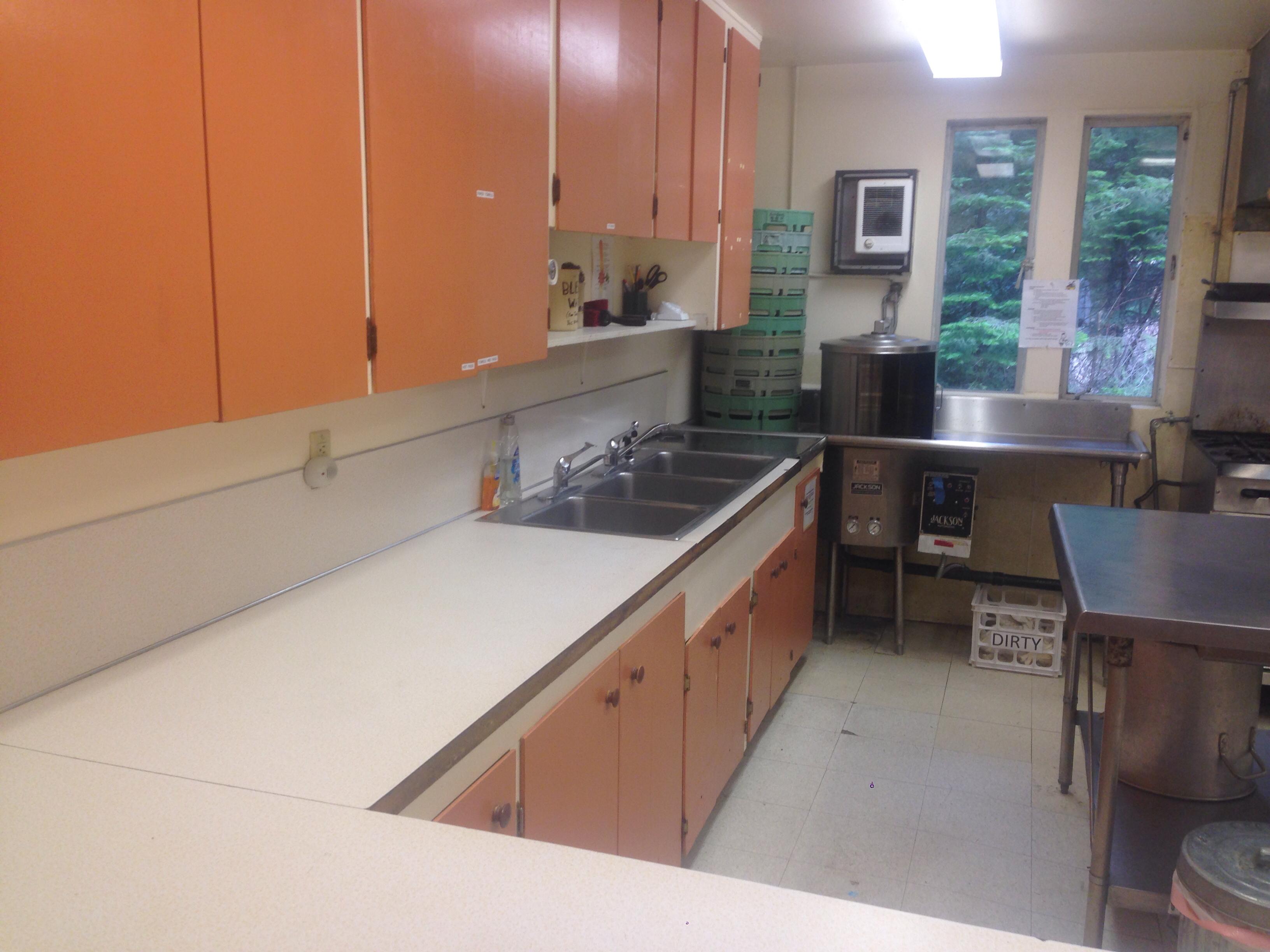 Commercial Kitchen | Cascade Meadows Camp